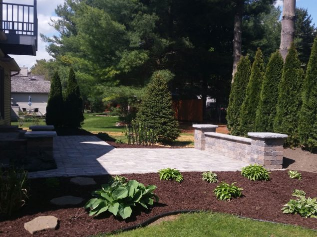 After - Stone Patio
