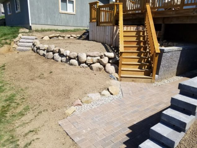 Brick Pathway Project