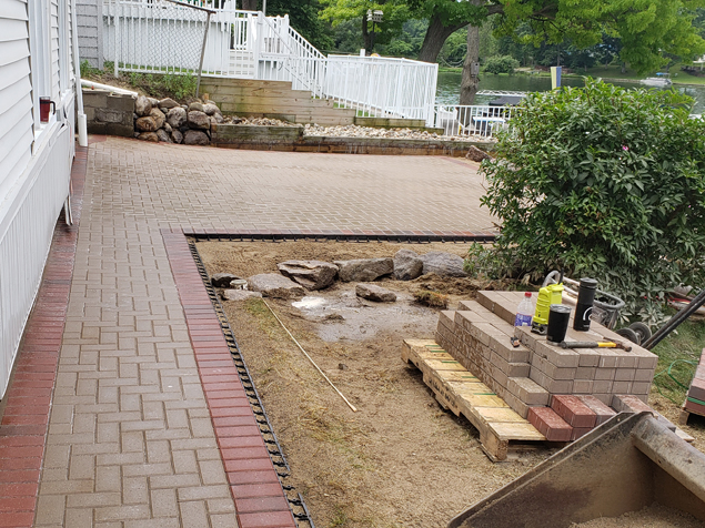 Stone Patio Project